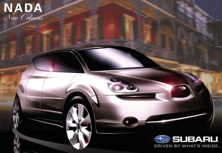 NADA Invitation for Subaru